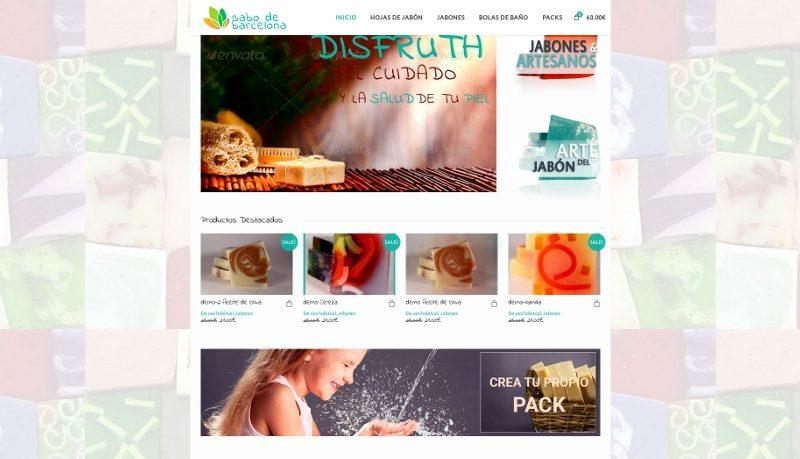 Diseño página web para Sabo de Barcelona