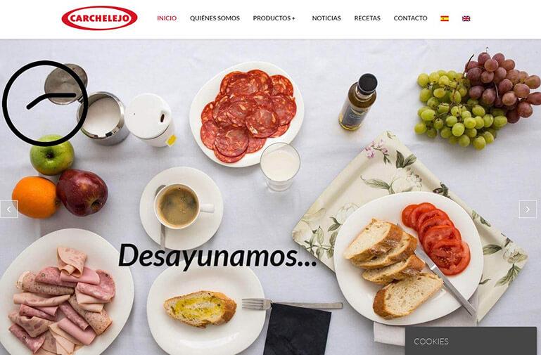 Catálogo online Embutidos Carchelejo